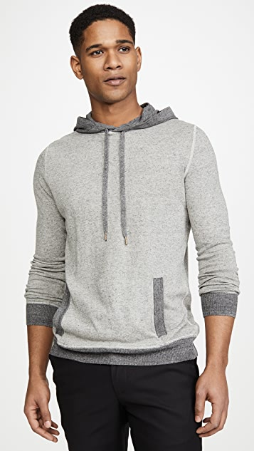 Billy Reid Contrast Stitch Pullover