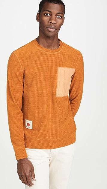 Billy Reid Grid Crew Shirt