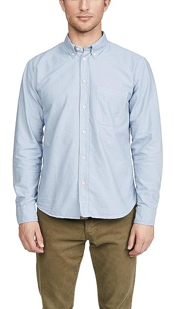 Billy Reid Long Sleeve Oxford Tuscumbia Shirt