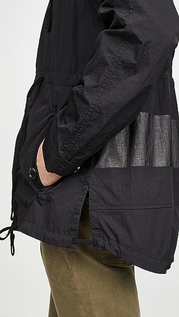 Billy Reid Long Sleeve Nylon Windbreaker