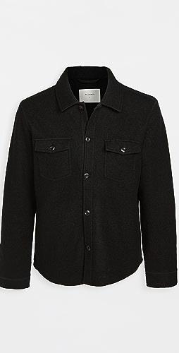 Billy Reid - Boiled Wool Shirt Jacket
