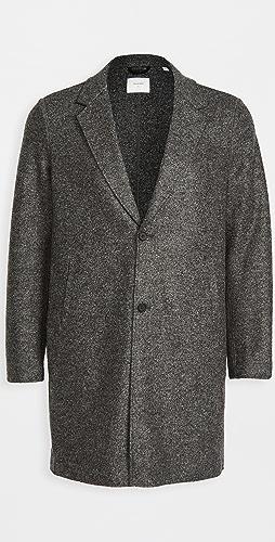 Billy Reid - Boiled Wool Topcoat