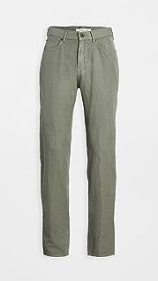 Billy Reid Cotton Linen 5 Pocket Pants