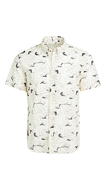 Billy Reid Murphy Shirt