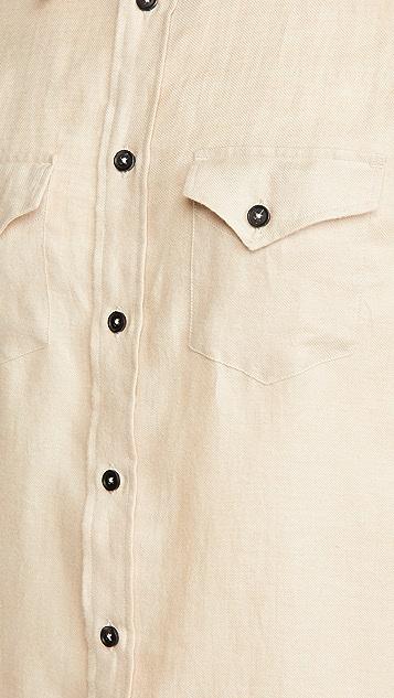Billy Reid Western Shirt