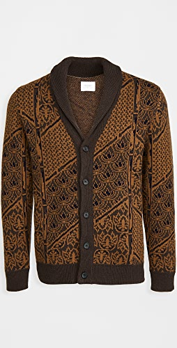 Billy Reid - Wallpaper Jacquard Cardigan