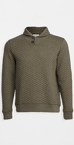 Billy Reid - Diamond Quilt Shawl Sweater