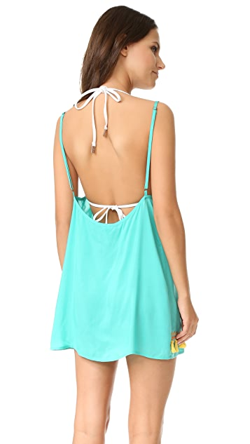 Bindya Boho Tassels Cover Up Dress
