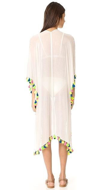 Bindya Neon Tassel Kimono