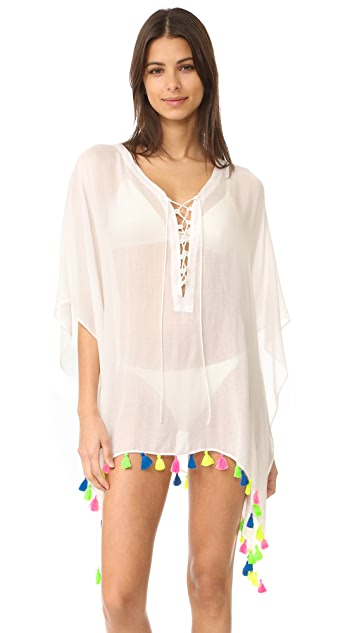 Bindya Lace Up Cover Up Dress