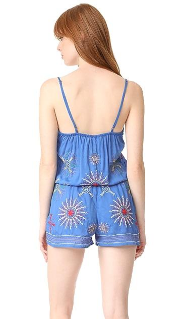 Bindya Mix Embroidery Romper