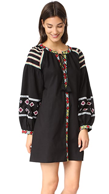 Bindya Embroidered Canes Tunic