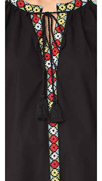 Bindya Embroidered Canes Tunic