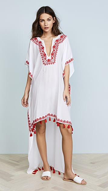 Bindya Boho High Low Cover Up Dress
