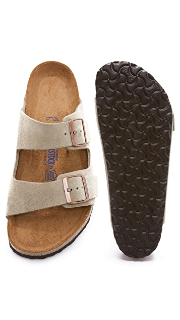 Birkenstock Soft Arizona Suede Sandals