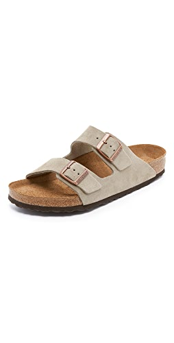 Birkenstock - Soft Arizona Suede Sandals