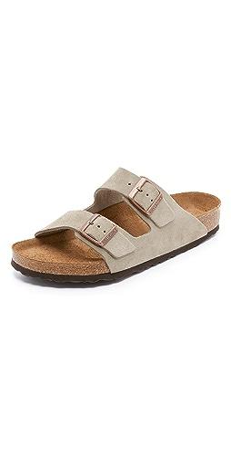 Birkenstock - Soft Arizona Suede Sandals