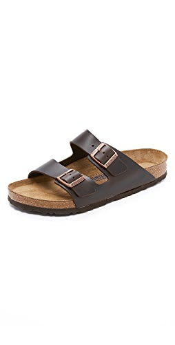 Birkenstock - Soft Arizona Amalfi Leather Sandals
