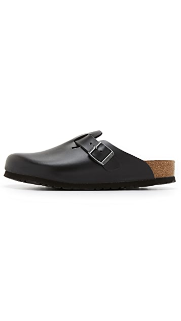 Birkenstock Soft Footbed Boston Clogs