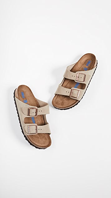 Birkenstock Arizona Soft Sandals - Narrow