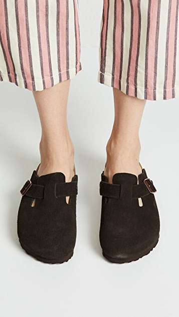 Birkenstock Boston Soft Clogs - Narrow