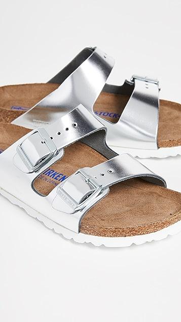 Birkenstock Узкие мягкие сандалии Arizona