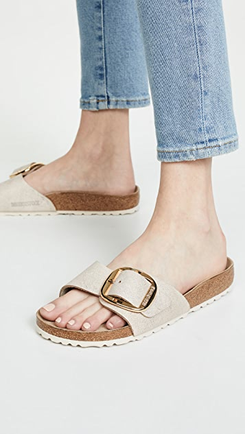 on sale c6509 beba7 Madrid Big Buckle Sandals