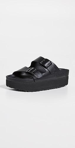 Birkenstock - Arizona Exquisite 厚底凉鞋