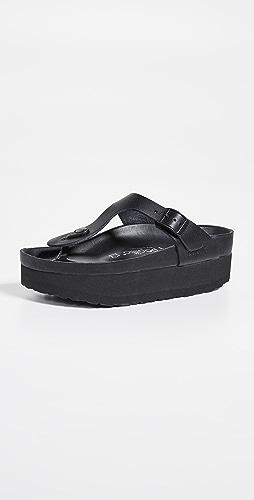 Birkenstock - Gizeh 厚底精致凉鞋