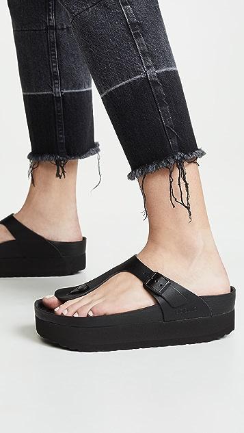 Birkenstock Изысканные сандалии Gizeh на платформе