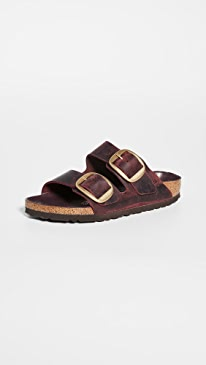 Arizona Big Buckle Sandals - Narrow