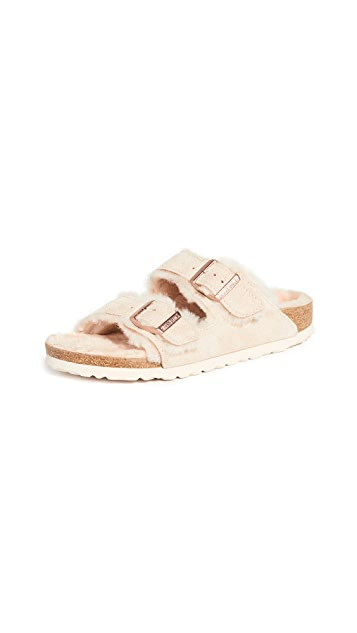 Birkenstock Arizona Shearling Sandals