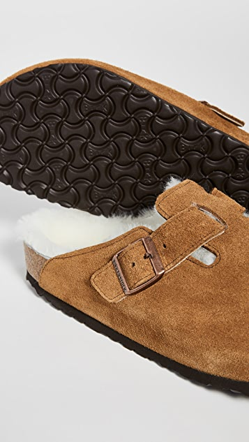 Birkenstock Boston Shearling Sandals