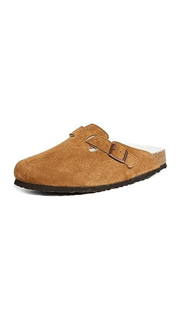 Birkenstock Boston Shearling Sandals