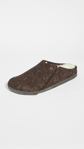 Birkenstock Zermatt Wool Felt Slippers
