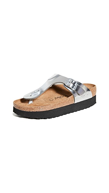 Birkenstock Gizeh Platform Sandals-Regular