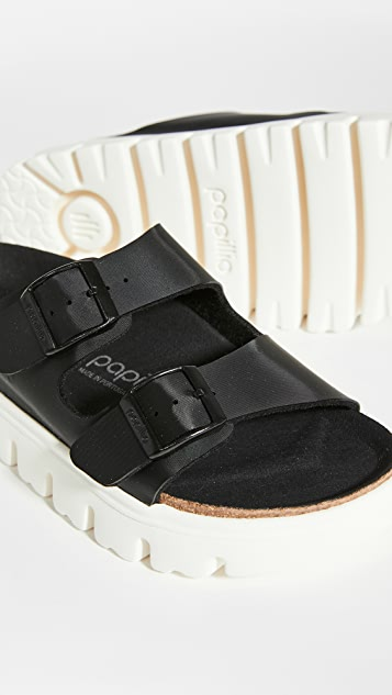 Birkenstock Arizona 厚底凉鞋