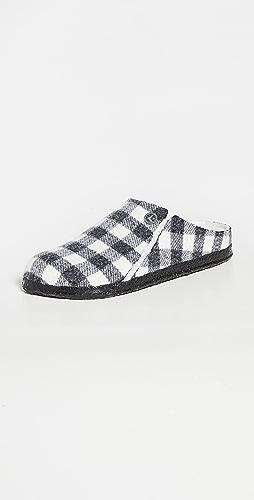 Birkenstock - Zermatt 连毛羊皮平底鞋