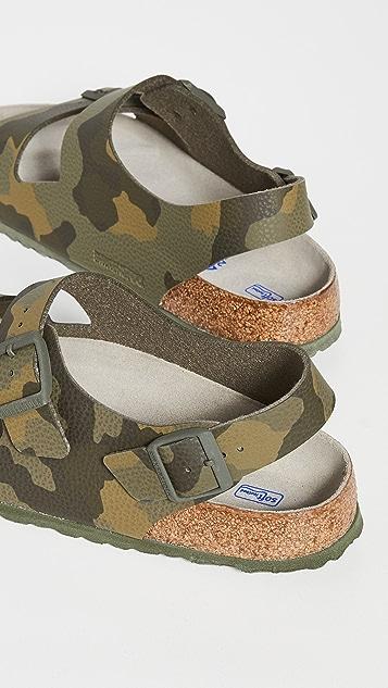 Birkenstock Milano Soft Footbed Sandals