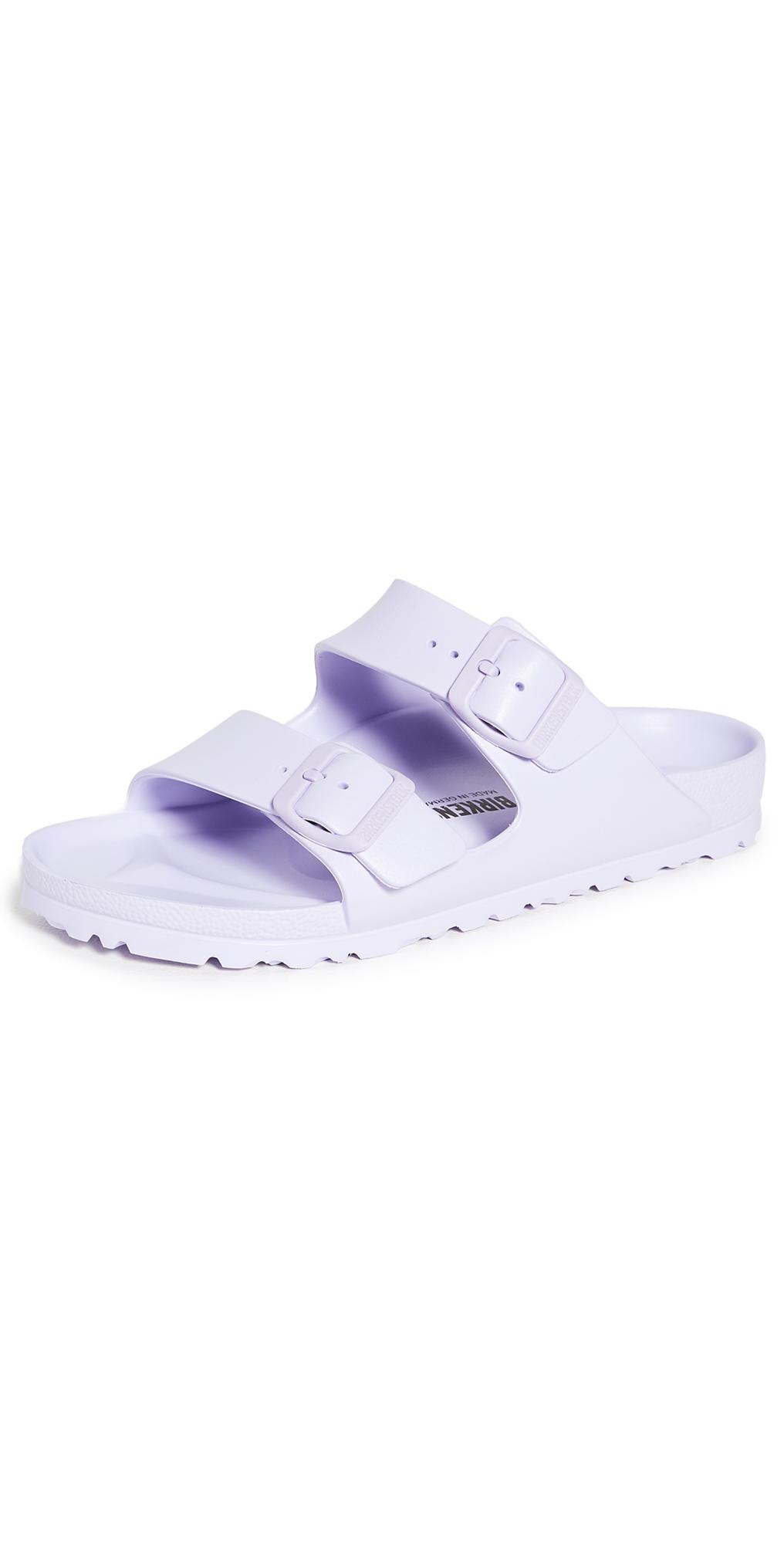 Birkenstock Women's Arizona Essentials Eva Two-strap Sandals From Finish Line In Purple Fog