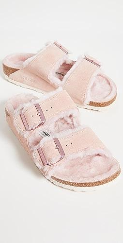 Birkenstock - Arizona Shearling Sandals