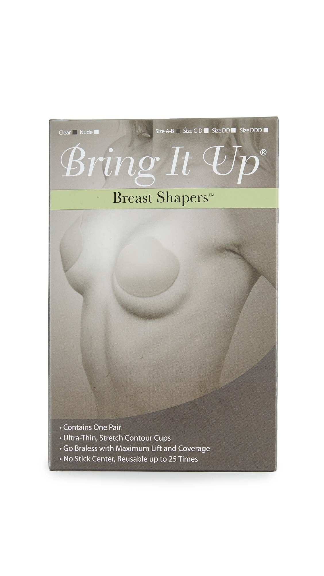 Bring It Up Breast Shapers
