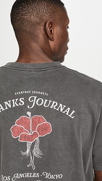 Banks Journal Willow Logo T-Shirt