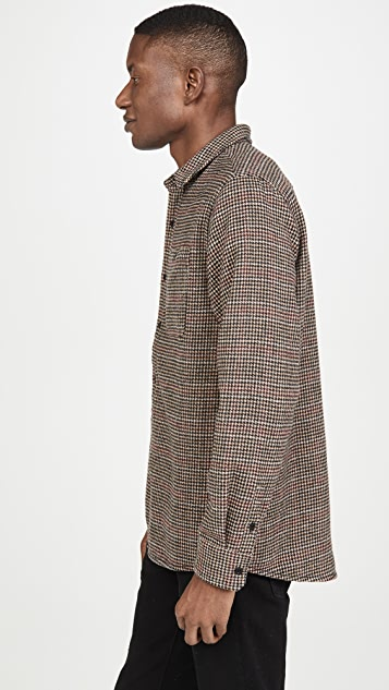 Banks Journal Somedays Houndstooth Shirt