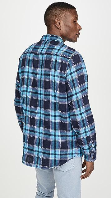 Banks Journal Vanish Plaid Shirt