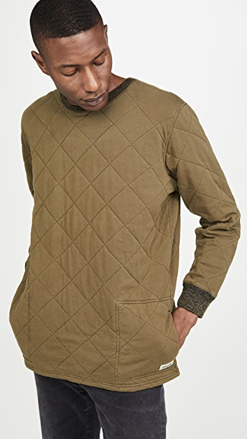 Banks Journal Kingdom Quilted Crew Neck Sweatshirt