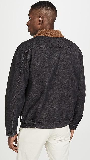 Banks Journal Orbit Sherpa Collar Trucker Jacket