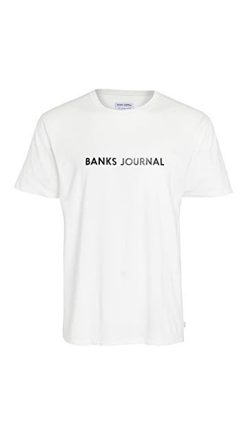Banks Journal Short Sleeve Label Stable T-Shirt