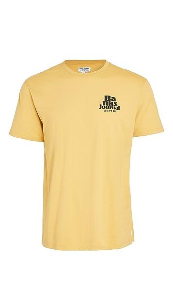 Banks Journal Short Sleeve Hourly T-Shirt