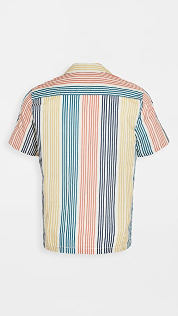 Banks Journal Short Sleeve Multiple Woven Shirt